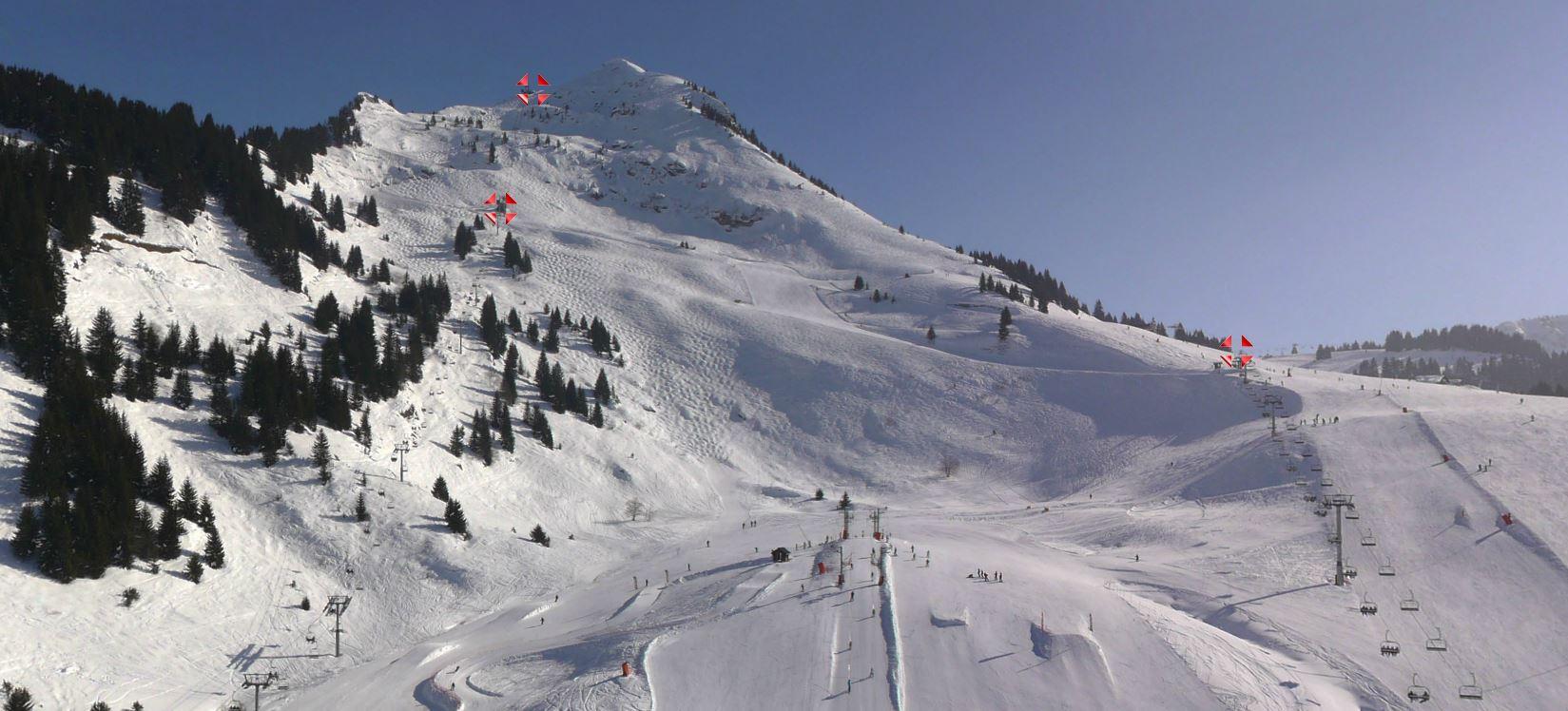 Visite virtuelle domaine skiable
