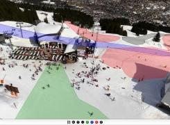 La visite virtuelle du domaine skiable de Morzine s'enrichit !